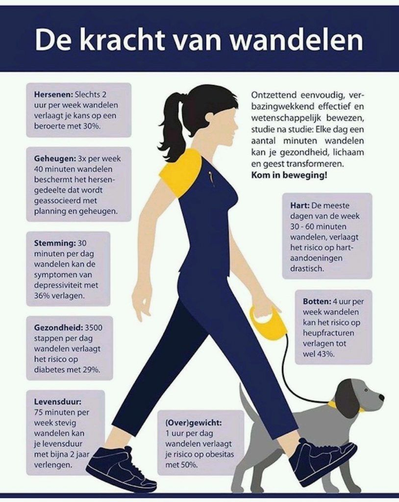 wandel je ontstekingswaarden omlaag - wandelen als ontstekingsremmer