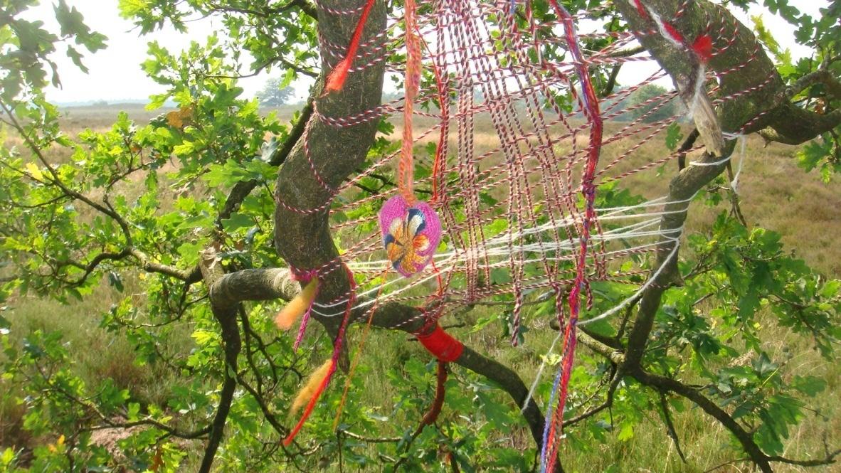 Wollen spinneweb - Lifefullness coaching