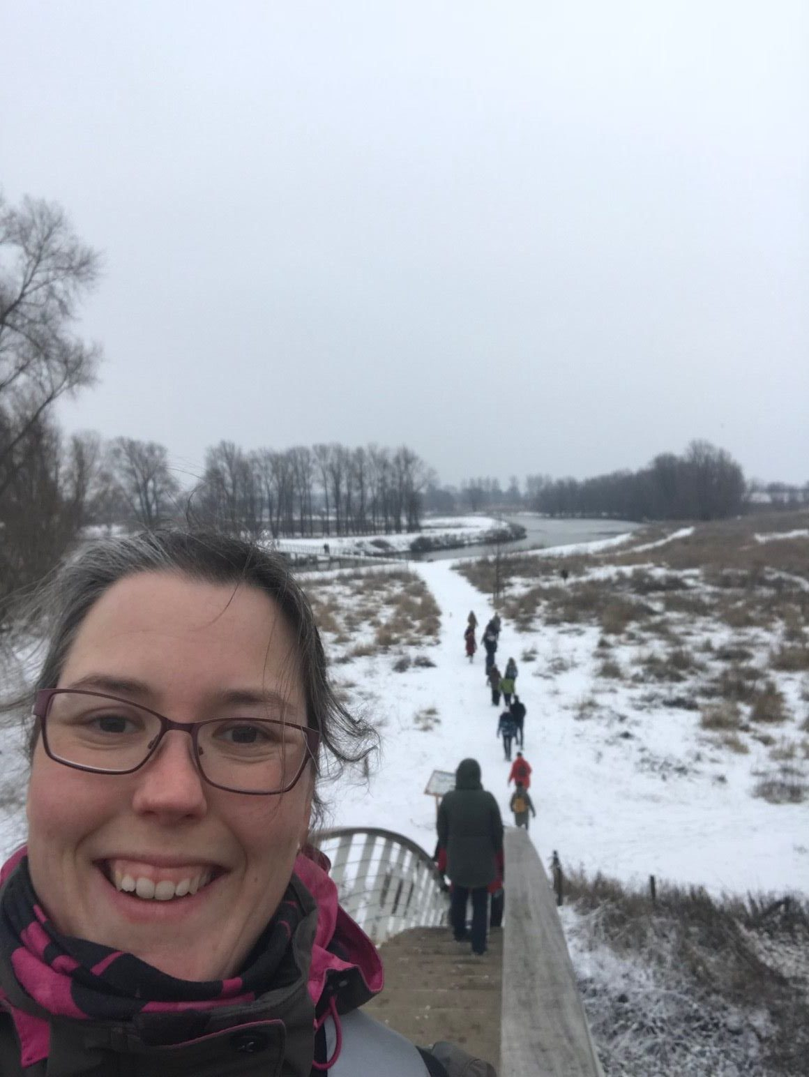Winterwandeling in Stadswaard Nijmegen