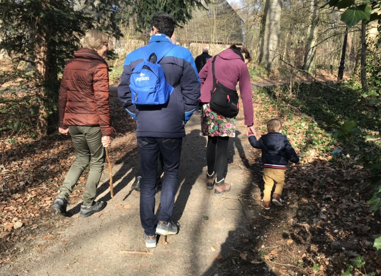 Familie activiteit - Wandeling