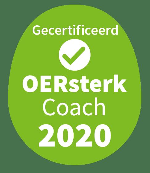 OERsterk Coach certificaat 2020
