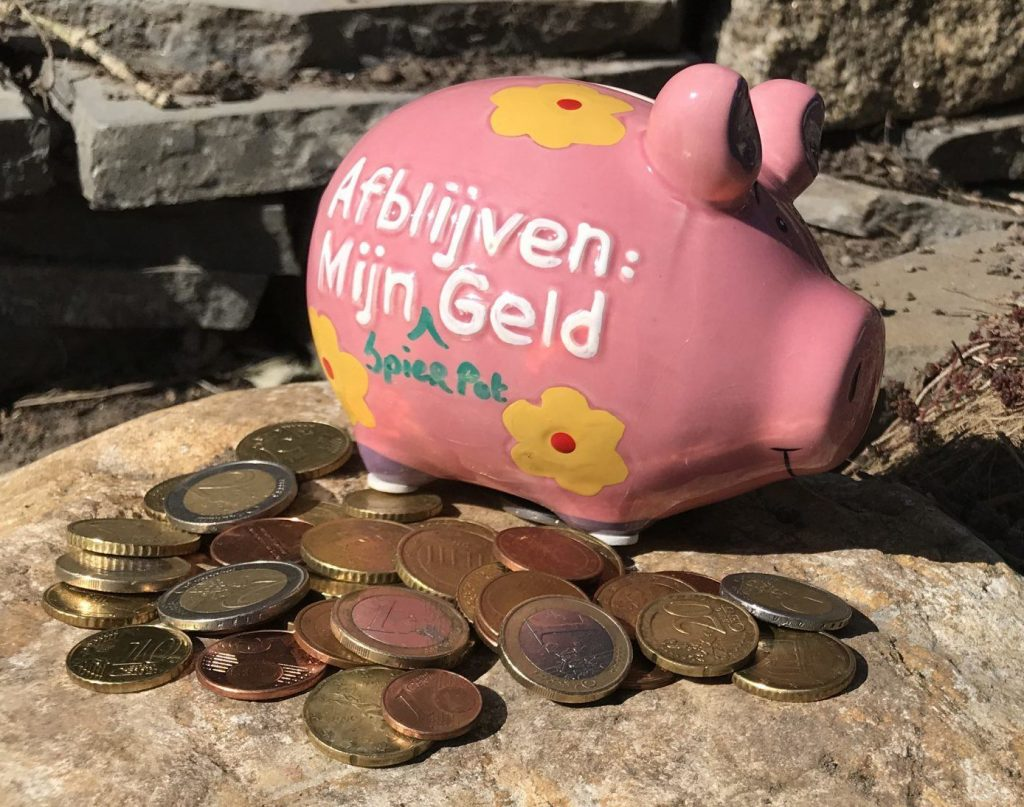 Spierpot geld - Lifefullness Coaching