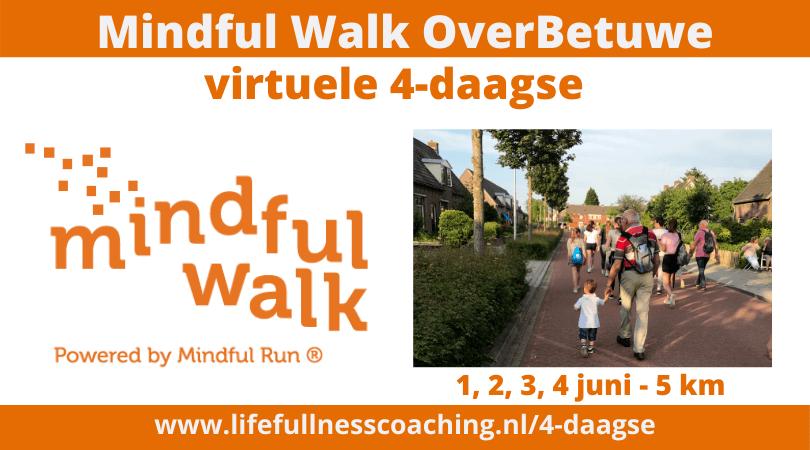 Mindful Walk Overbetuwe - Virtuele 4-daagse
