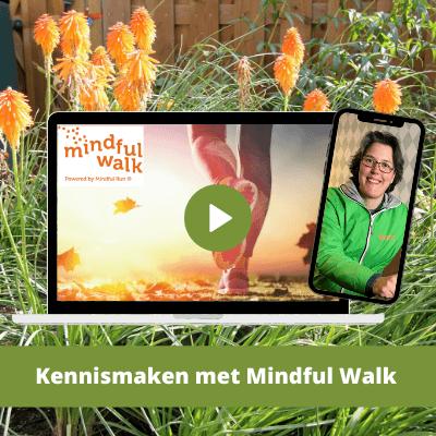 Mindful Walk Online - Kennismaking