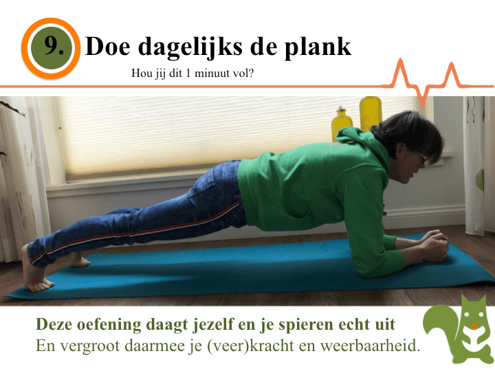 leefstijl actie 9. Planken
