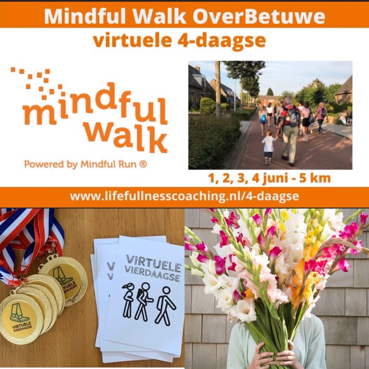 2020 Virtuele Mindful Walk Avond 4-daagse